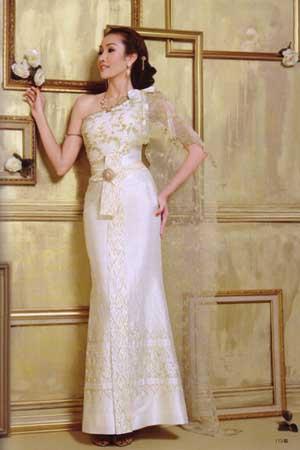 ชุดงานไทยแต่งงาน  สวยดูดีอย่างไทย