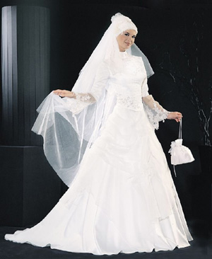 ชุดแต่งงานอิสลาม สวย ๆ มาใหม่