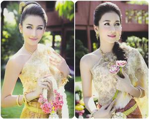 แฟชั่น ทรงผมเจ้าสาวชุดไทย