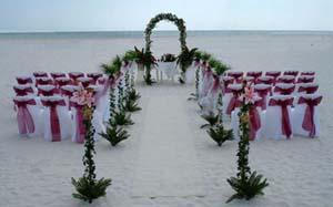 งานแต่งงาน ริมทะเล สุดโรแมนติก