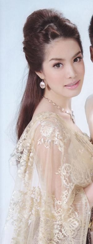ทรงผมเจ้าสาวชุดไทย สวยงามอย่างไทย