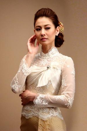 ทรงผมเจ้าสาวชุดไทย สวยงามอย่างมาก