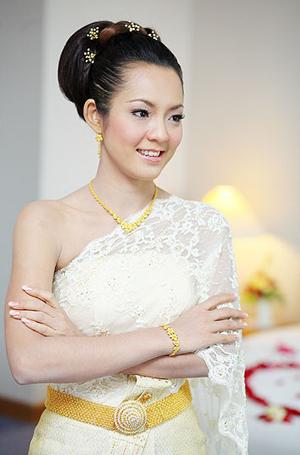 ทรงผมเจ้าสาว สวยอย่างไทย